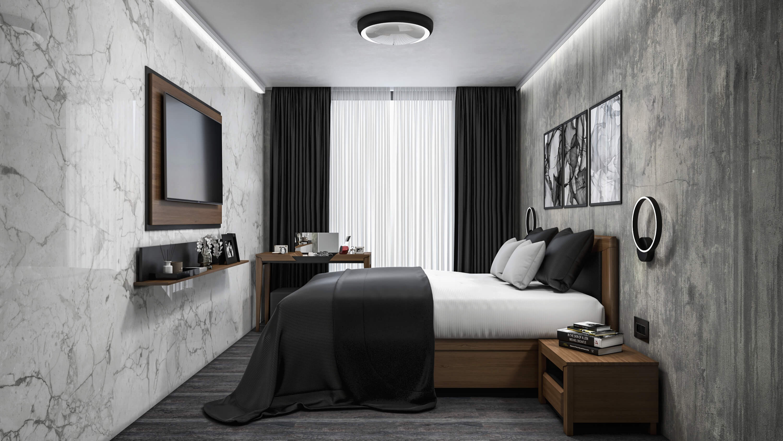 интериорен проект дендро спалня