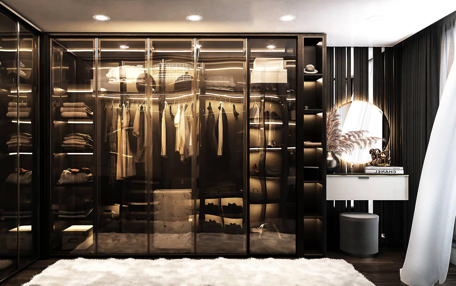 interioren-dizain-proekt-na-luksozna-kashta-garderobna
