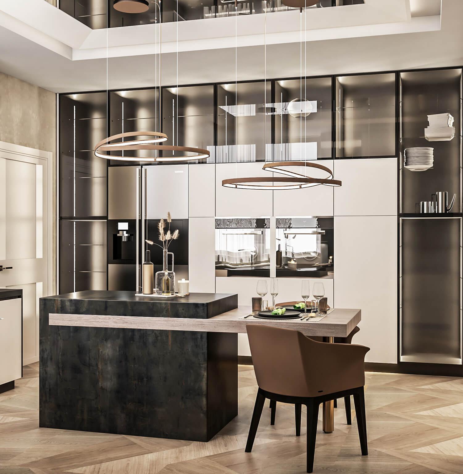 interioren-dizain-proekt-na-luksozna-kashta-kuhnia