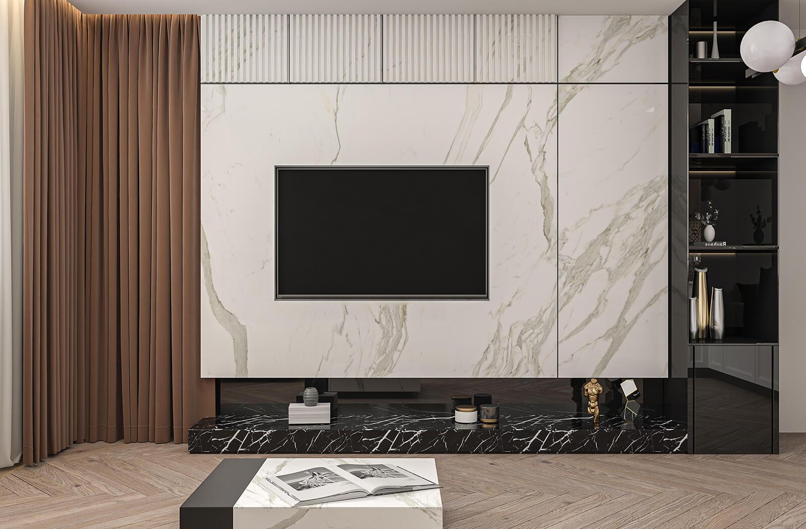 interioren-dizain-proekt-na-hol-i-kuhnia