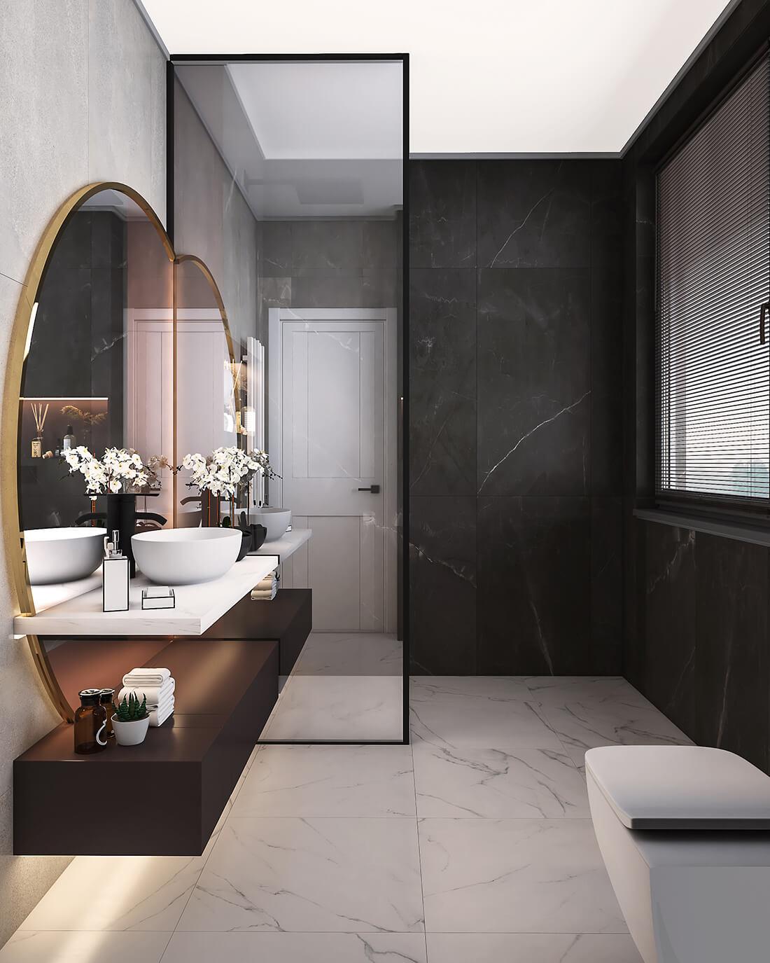 interioren dizain proekt na banya za gosti