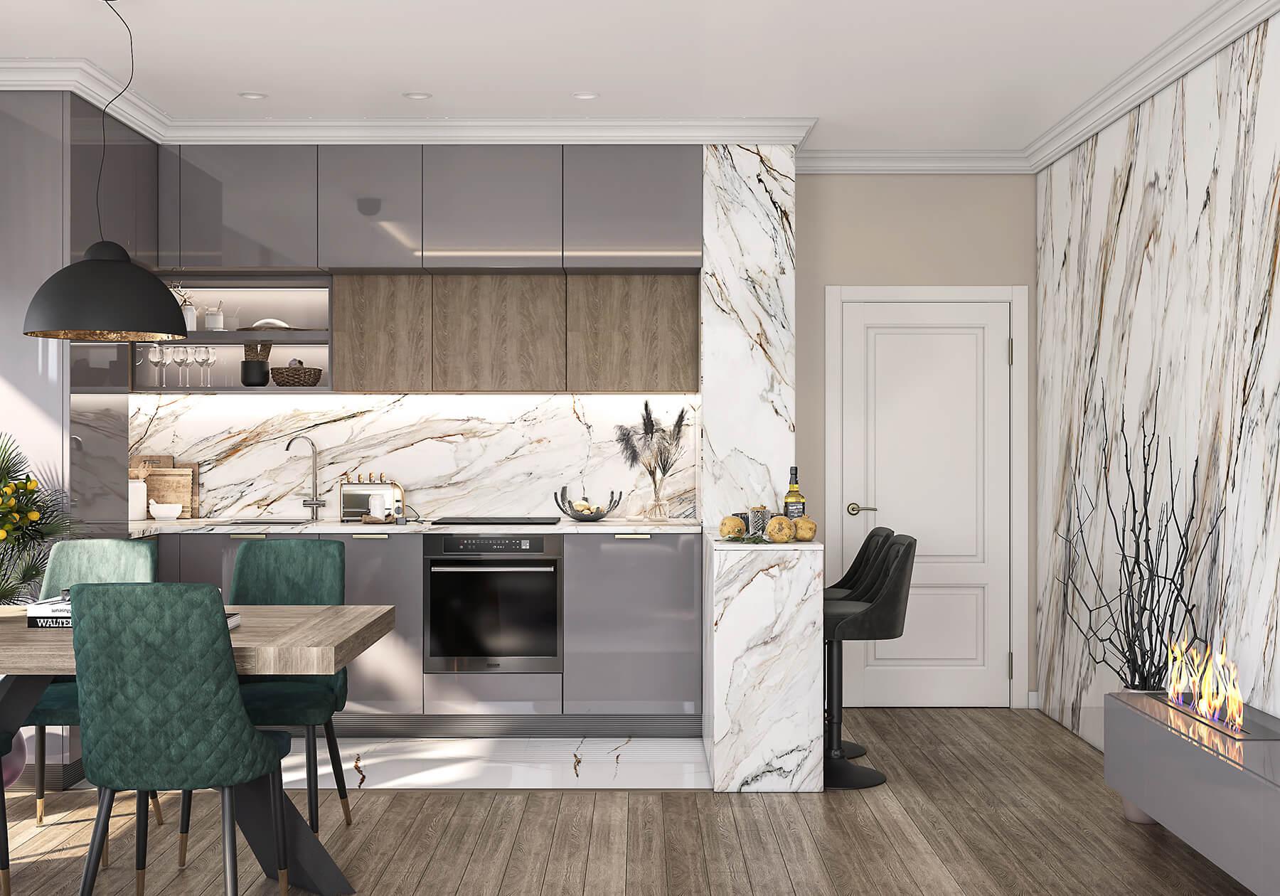 interioren-dizain-proekt-na-kuhnia-s-bar-i-trapezaria-s-trapezna-masa-2
