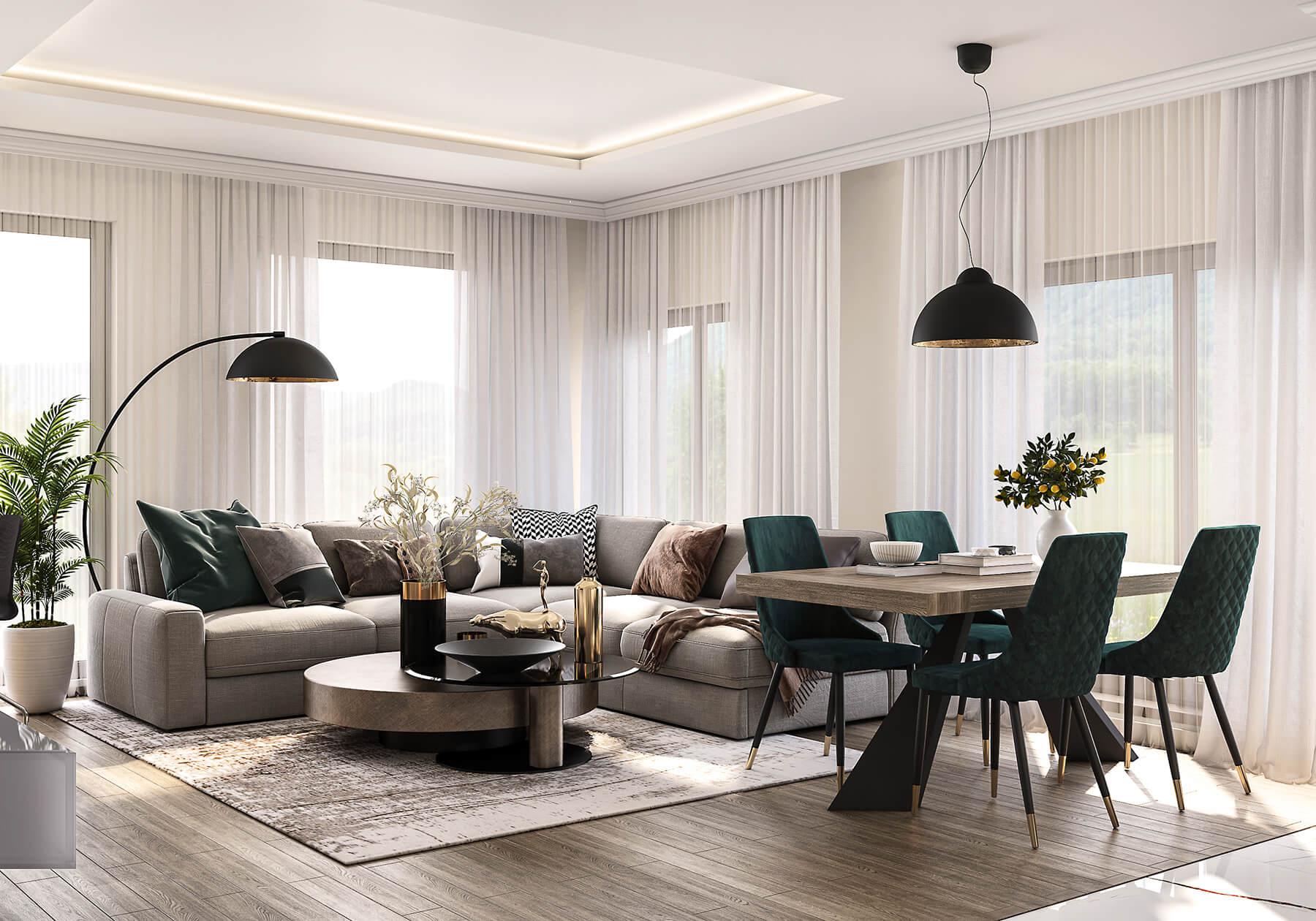 interioren-dizain-proekt-na-vsekidnevna-hol-s-trapezaria