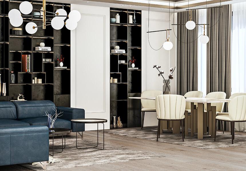 interioren dizain proekt na apartament orbis ot interiorno studio esteta