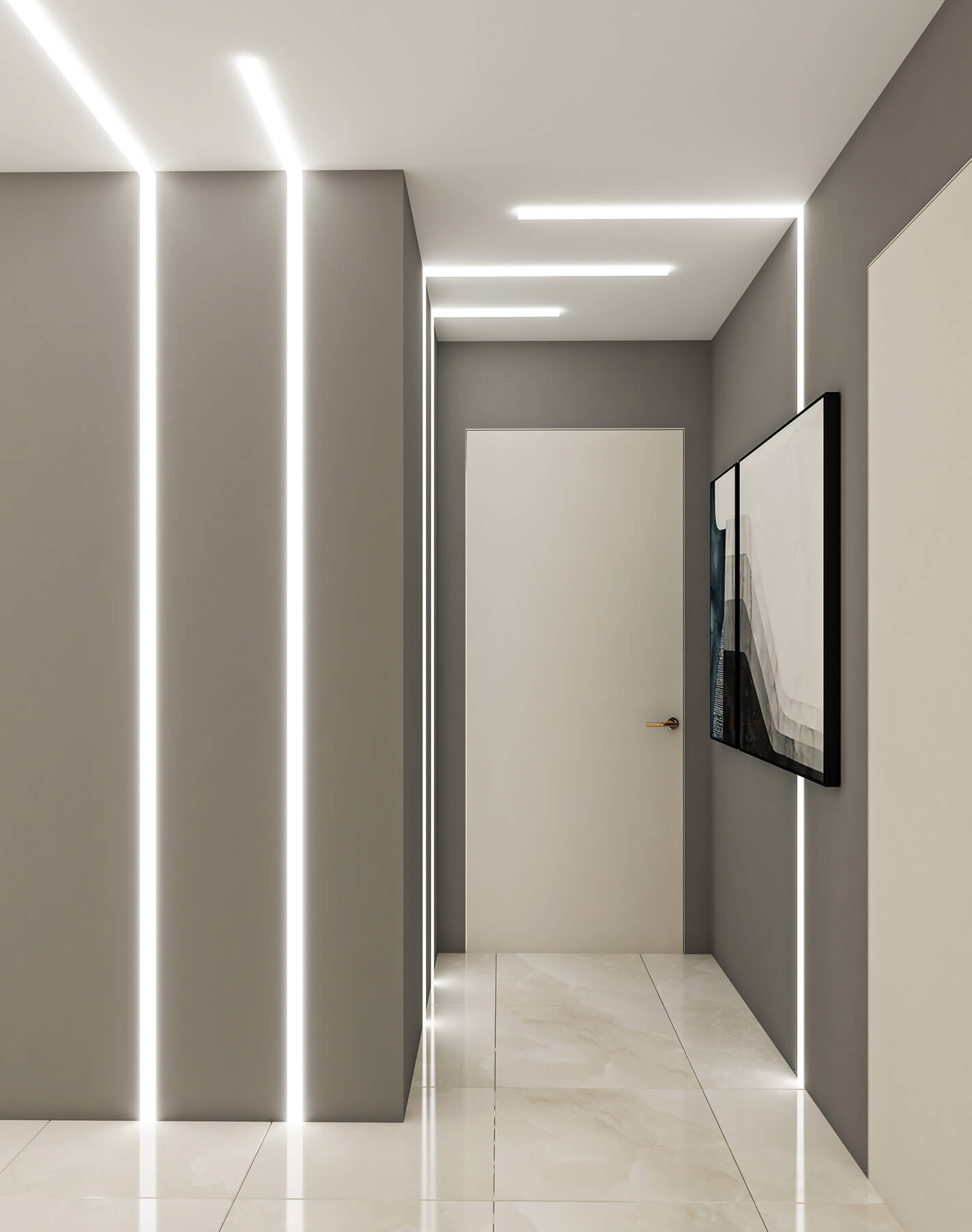 interioren dizain proekt na koridor proekt orbis