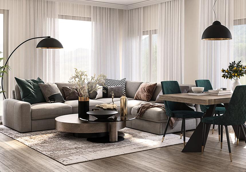 interioren-dizain-proekt-na-vsekidnevna-hol-s-trapezaria-3-Esteta