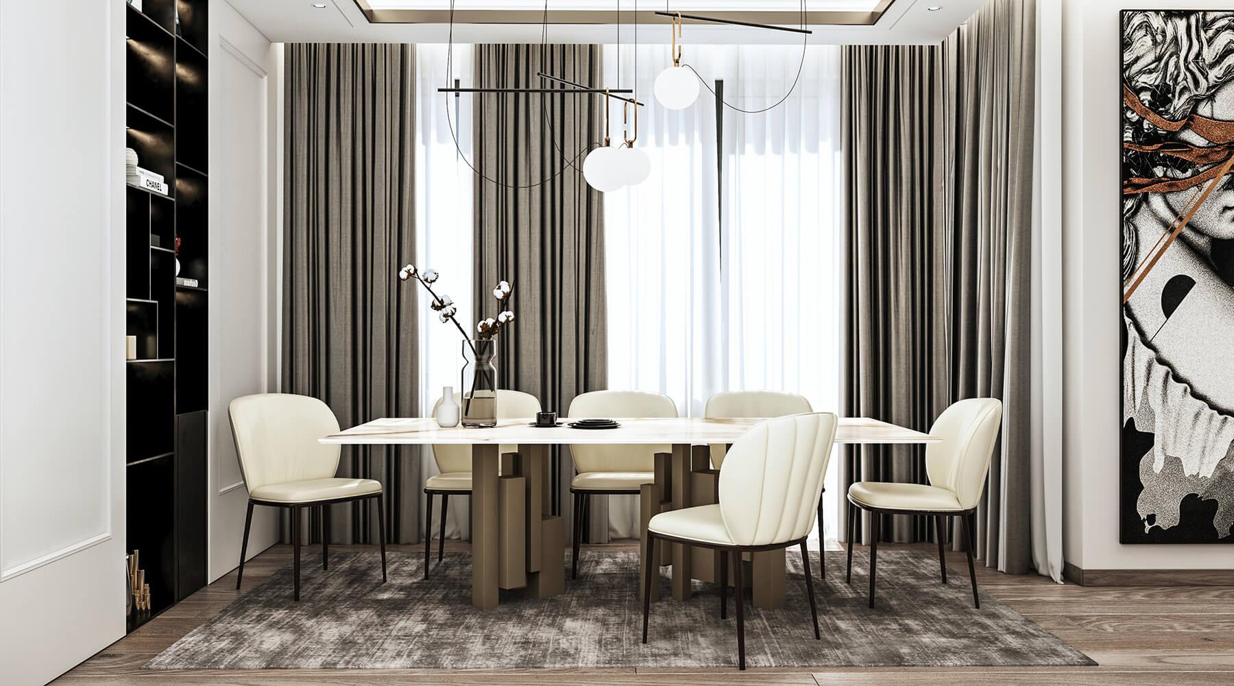 interioren dizain proekt na vsekidnevna s trapezaria proekt orbis