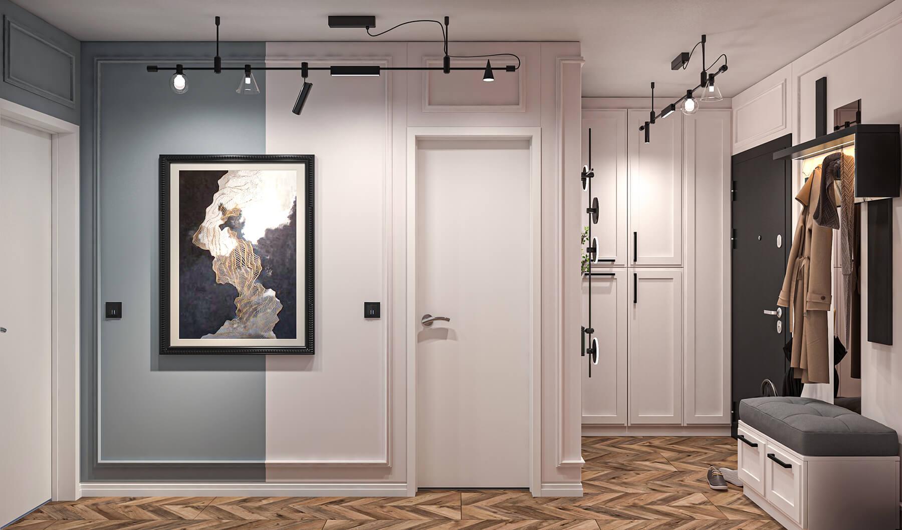 interioren-dizain-proekt-na-koridor-s-antre-po-poruchka-1-esteta
